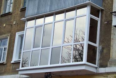 Остекление балконов в Одессе