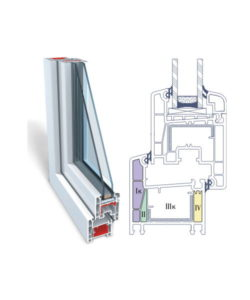 Пластиковые окна OPENTECK de lux 60